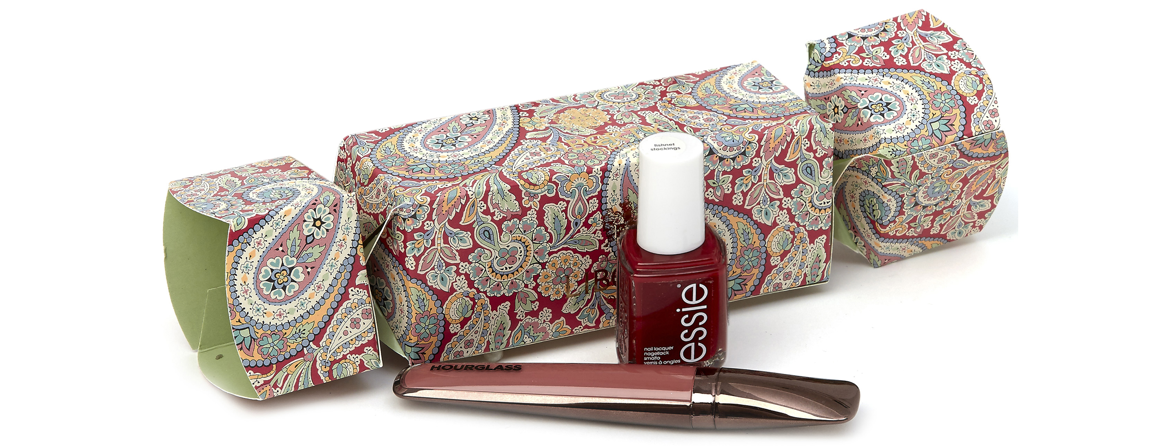 Liberty London Beauty Cracker with Hourglass and Essie