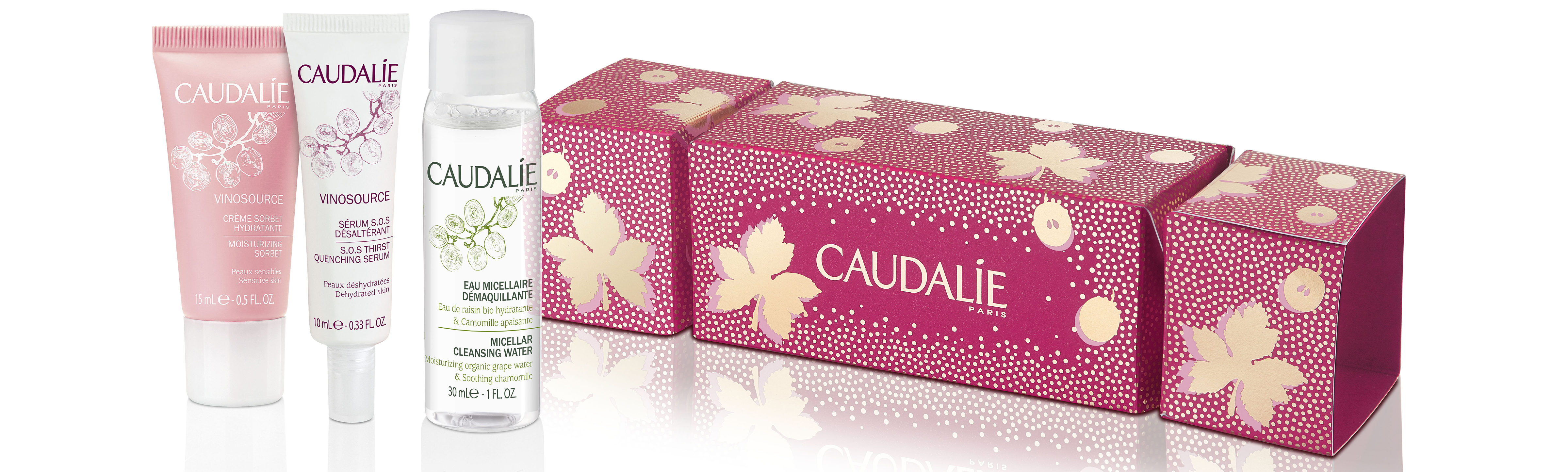 Caudalie Vinosource Christmas Cracker