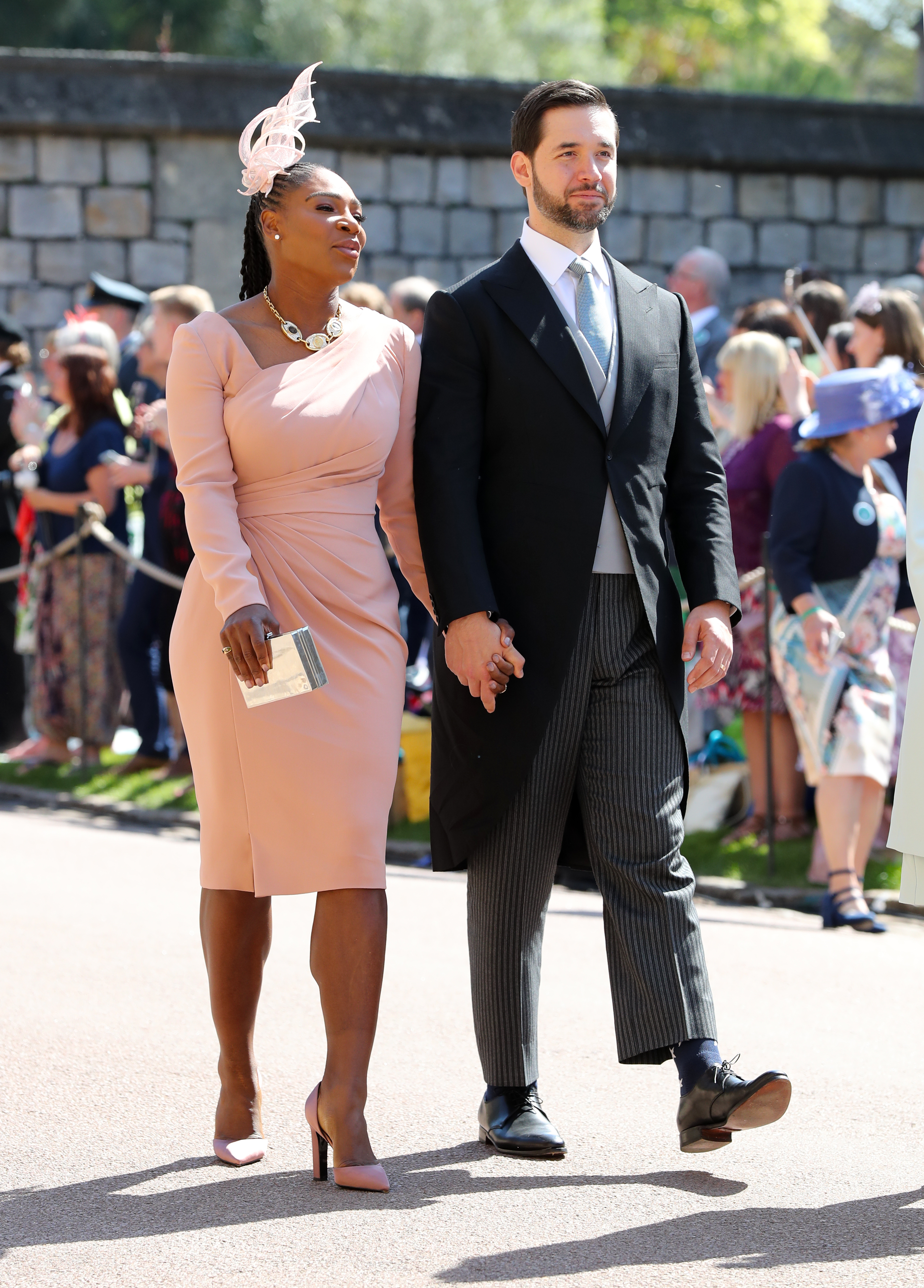Williams and her husband Alexis Ohanian