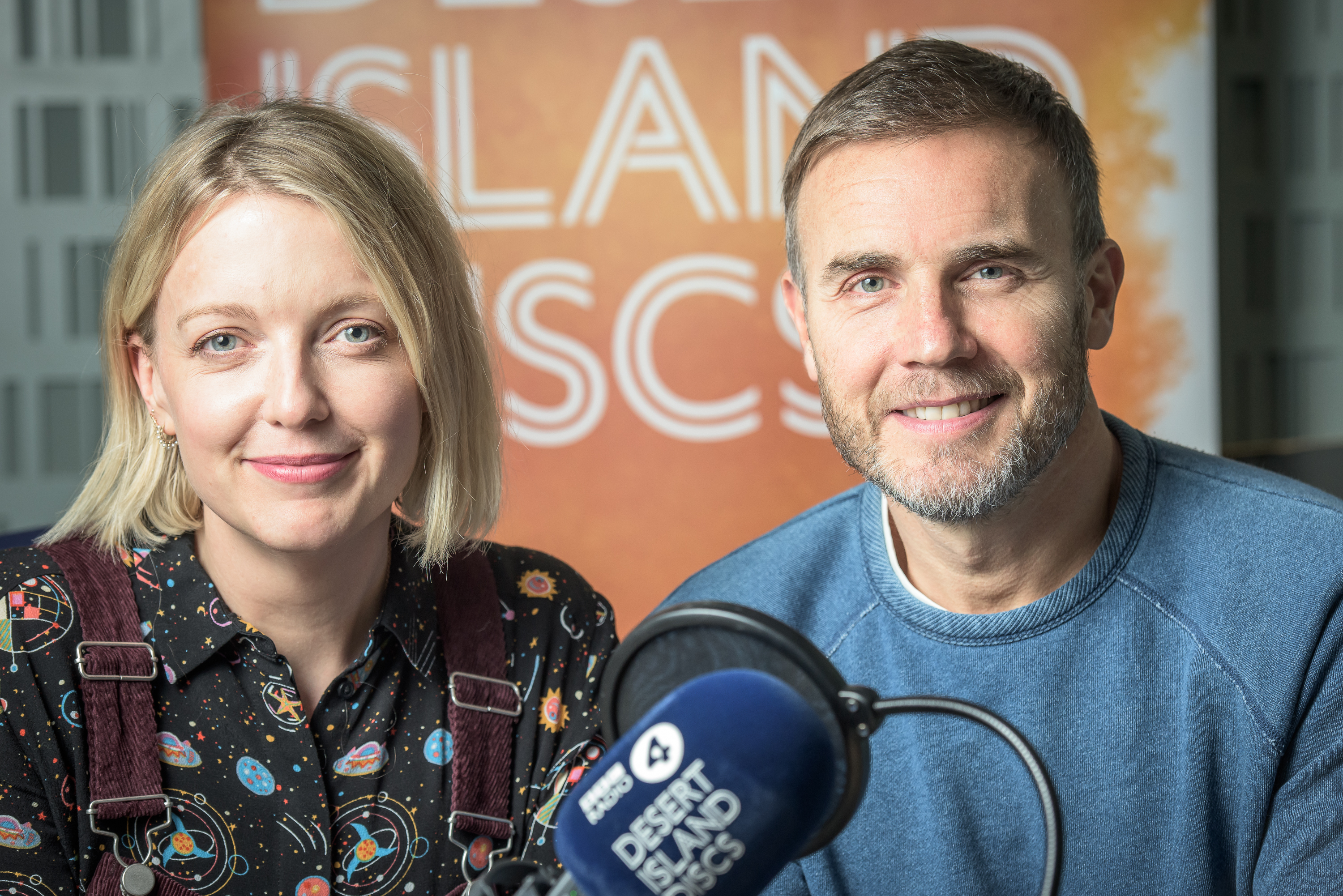 Gary Barlow and Lauren Laverne