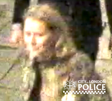 Unknown female police need to speak to who was approached by the suspected attacker on Worship Street, Hoxton. (City of London Police).