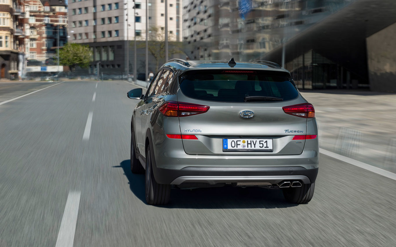 First Drive The Hyundai Tucson 48v Does The Job Without Much Pretention Shropshire Star