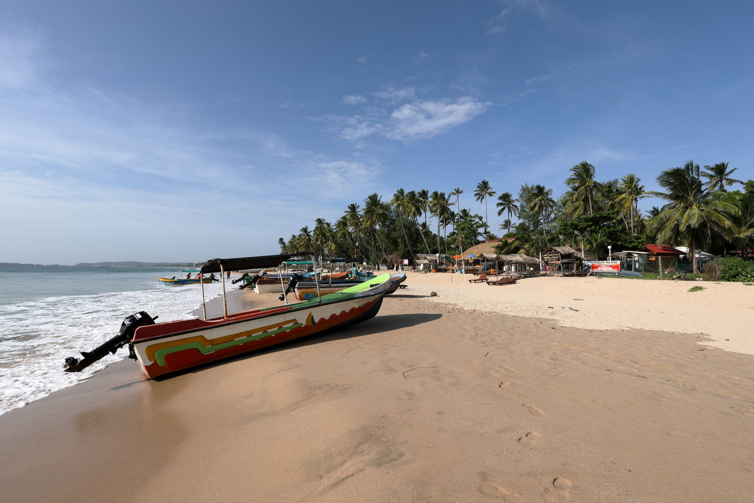 A beach in Trincomalee (Thinkstock/PA)