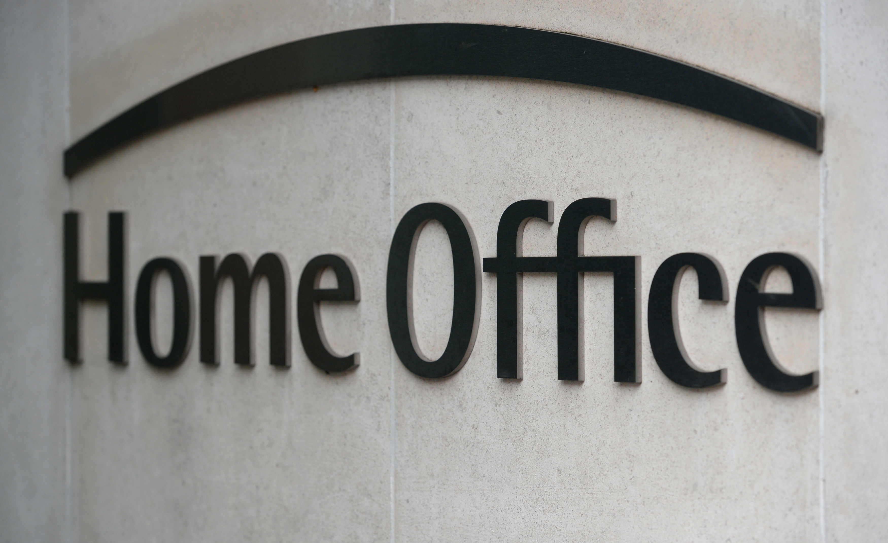 Signage for the Home Office in Westminster, London
