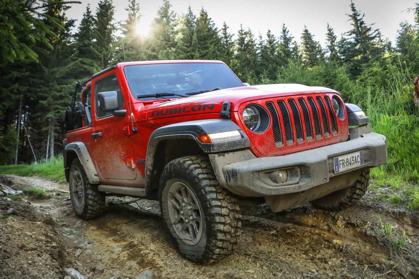 The new Jeep Wrangler has been created with off-road capability at its core