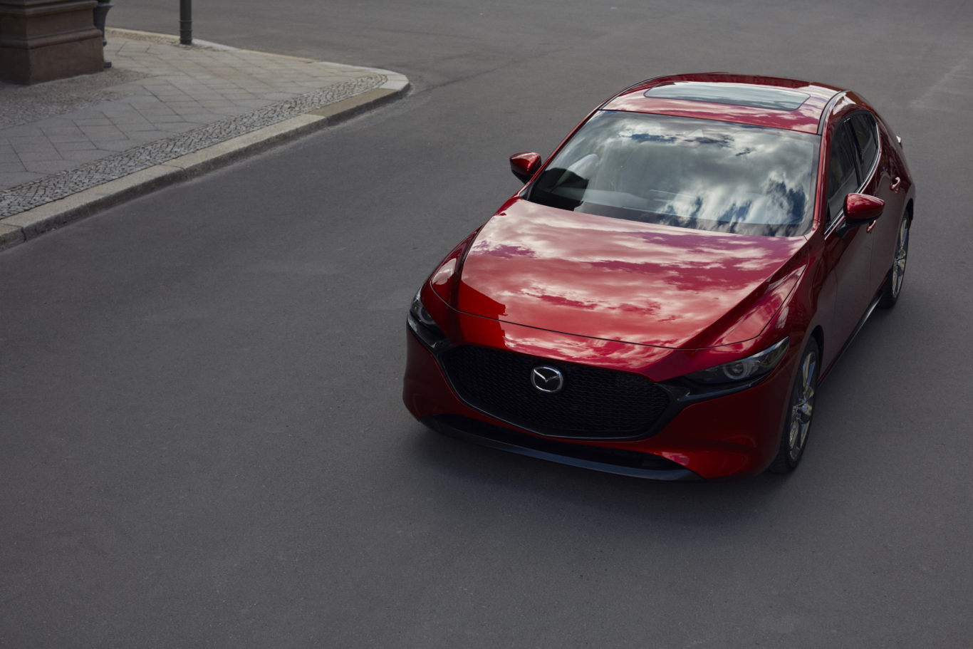 The new Mazda 3 represents a stylish update of one of Mazda's most popular models