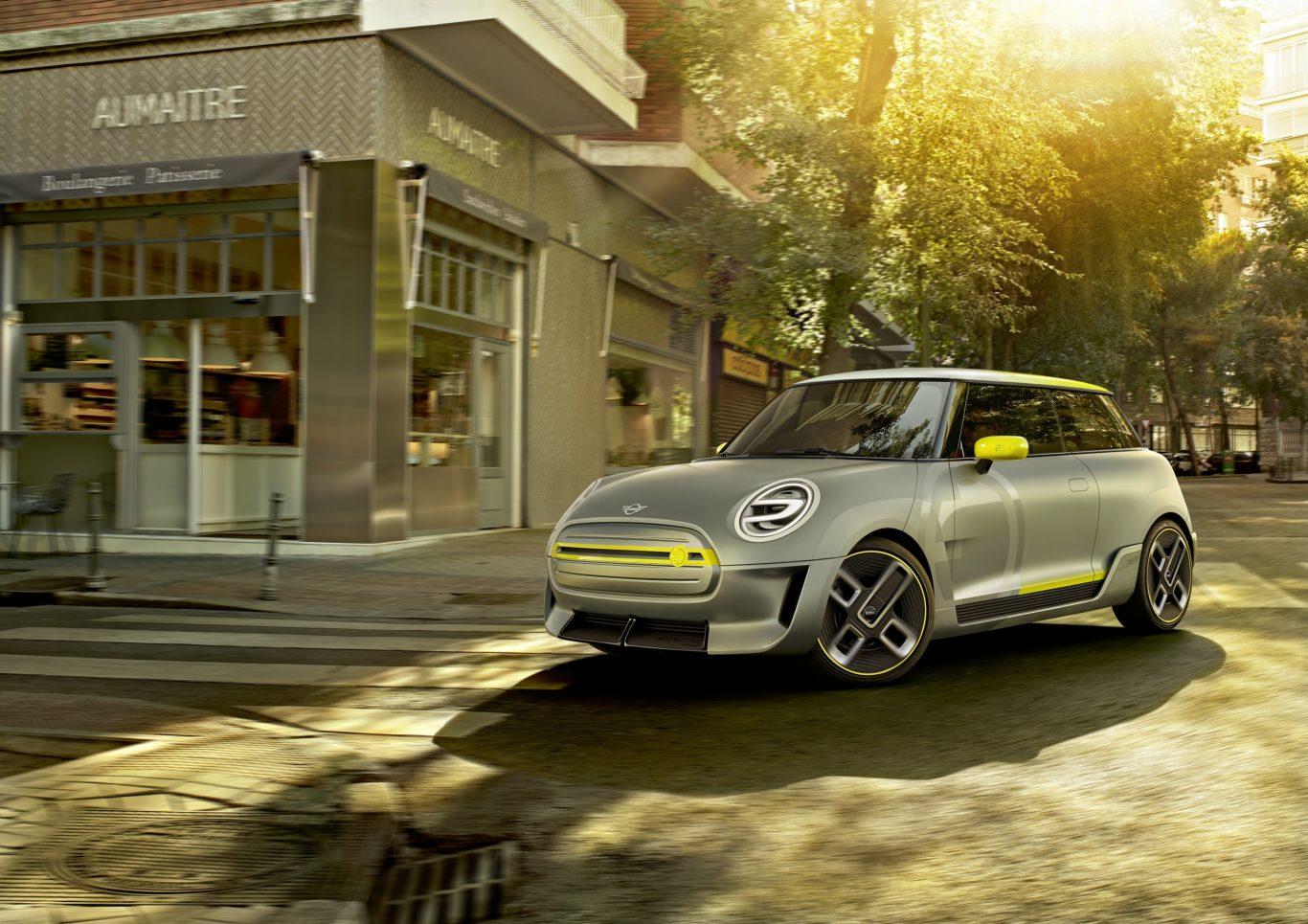 The new Mini EV is an all-electric take on the popular hatch