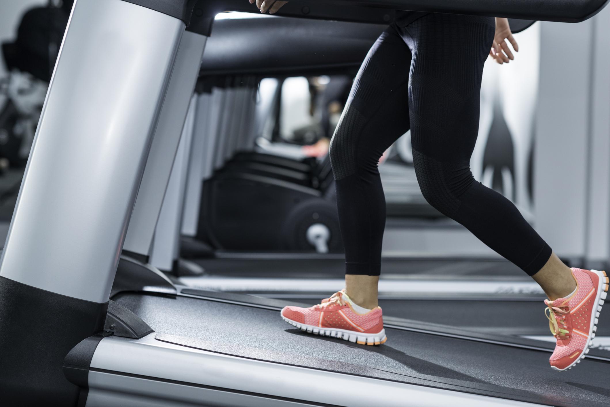Incline Treadmill Running