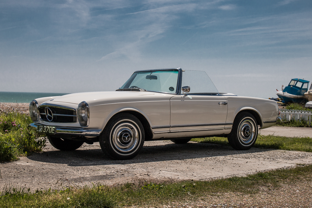 The Mercedes 280SL 'Pagoda' has gone down as one of the most stylish cars of all time
