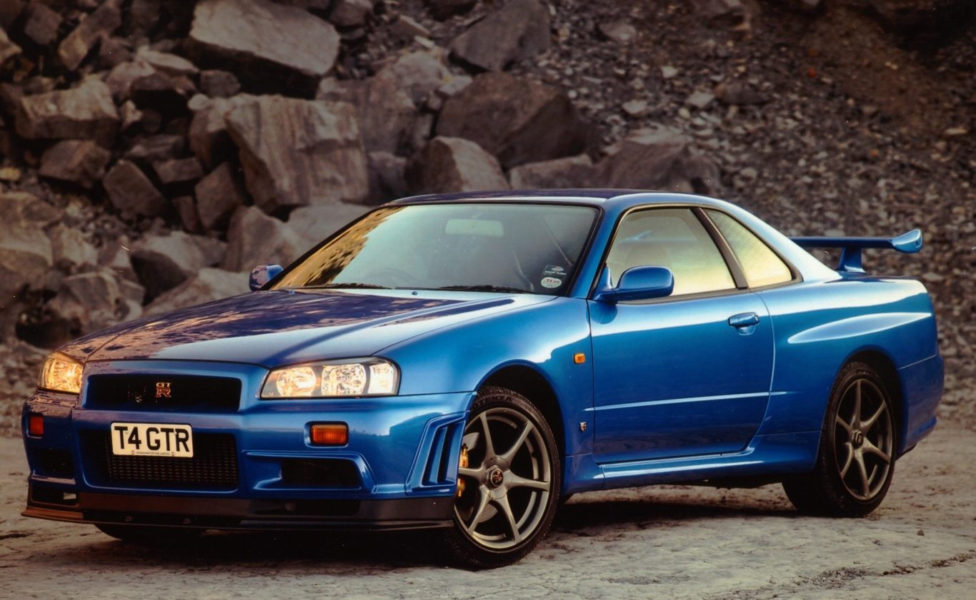 The R34 Skyline GT-R is one of the most iconic film cars of all time