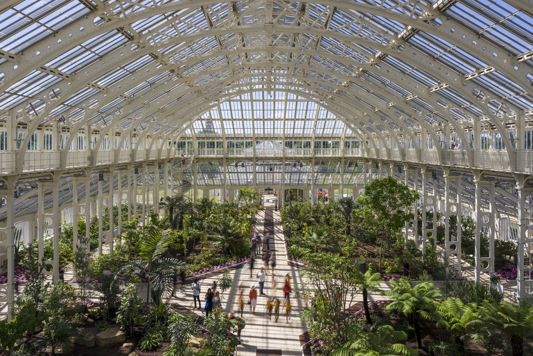 The Temperate House at Kew (Gareth Gardner/RBG Kew/PA)