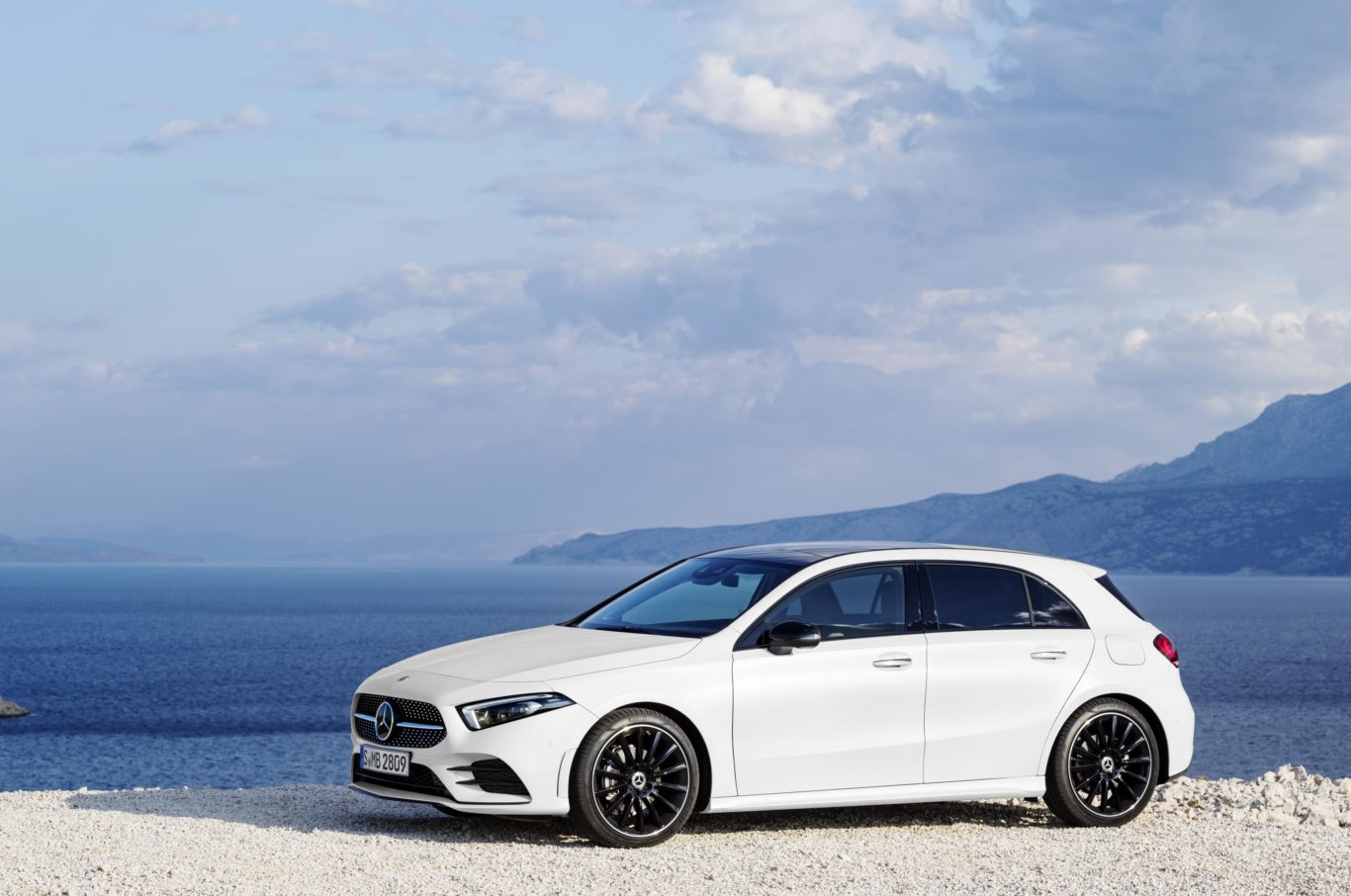 The new A-Class features a variety of cutting-edge safety tech