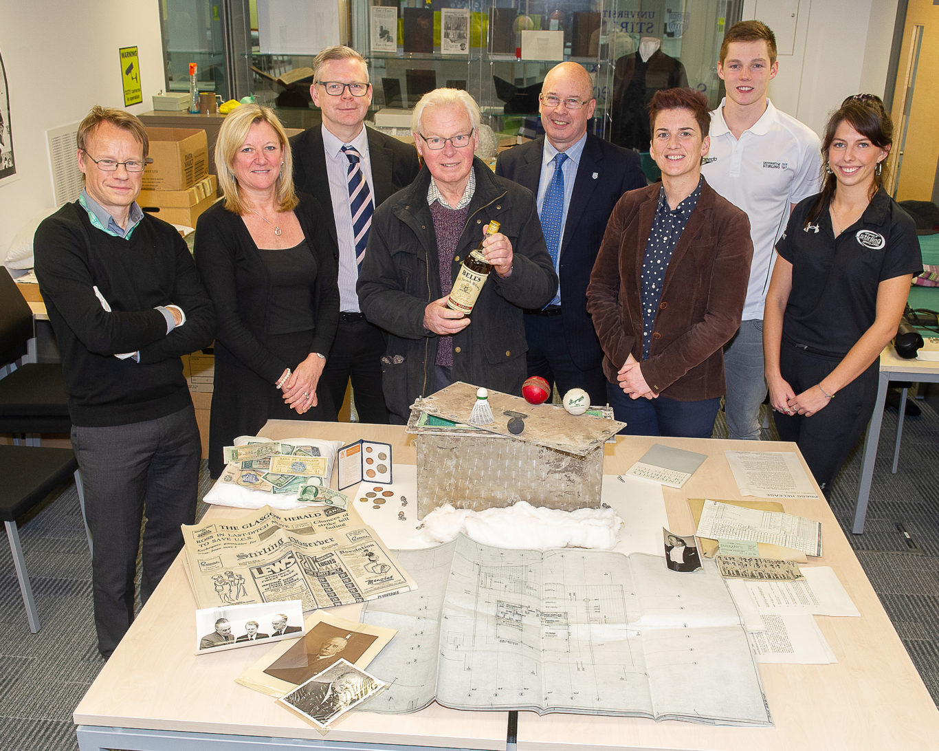 Stirling University time capsule