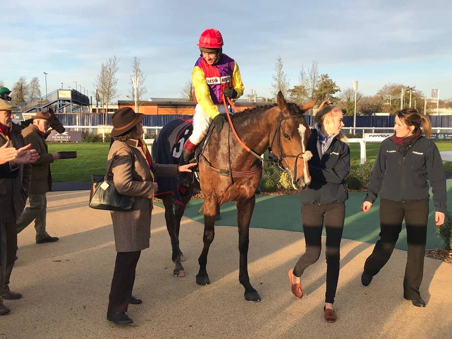 Tidal Flow goes in search of Grade Two honours at Warwick (Graham Clark)