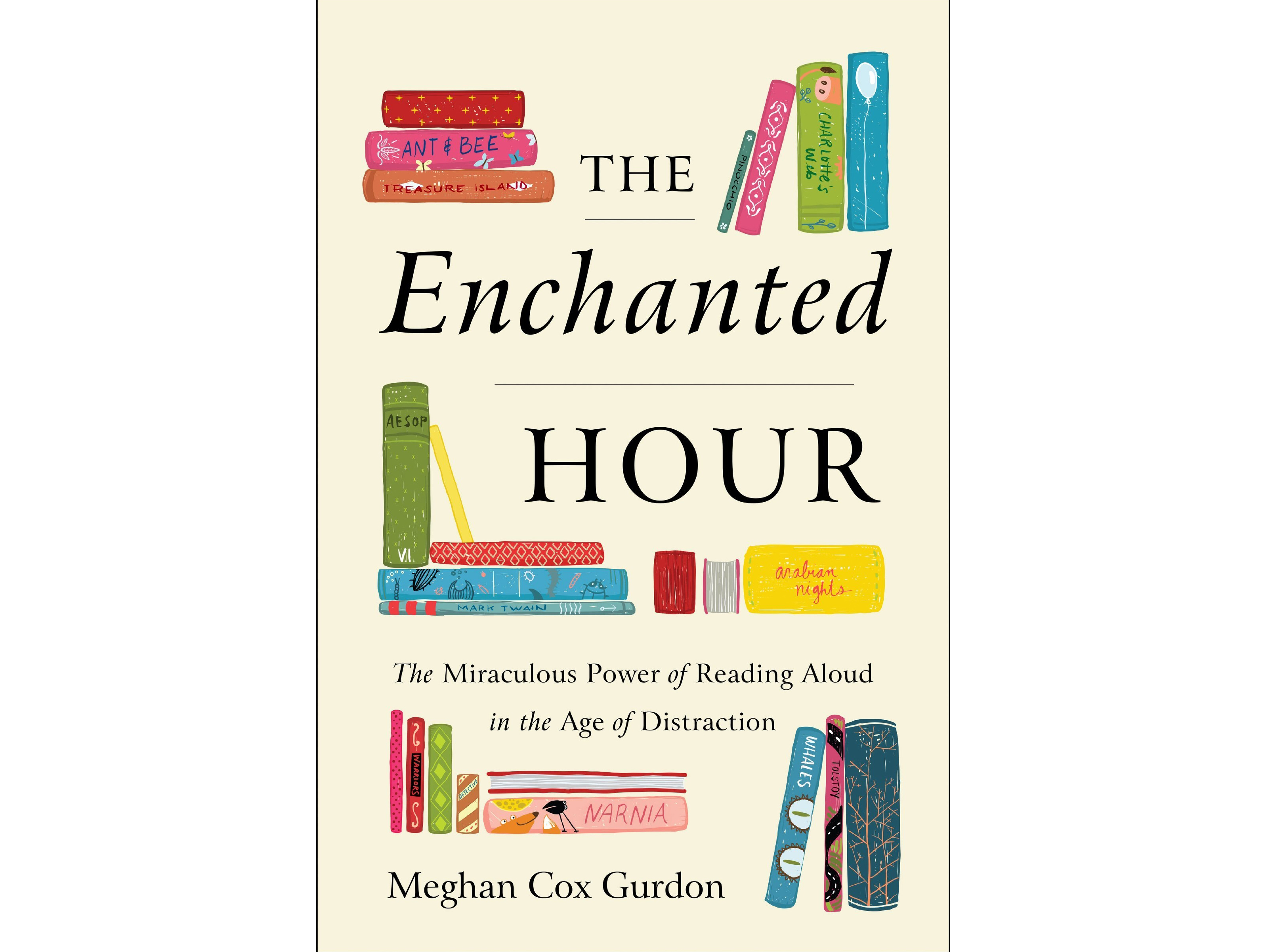 The Enchanted Hour – The miraculous power of reading aloud in the age of distraction by Meghan Cox Gurdon,(Piatkus/PA)