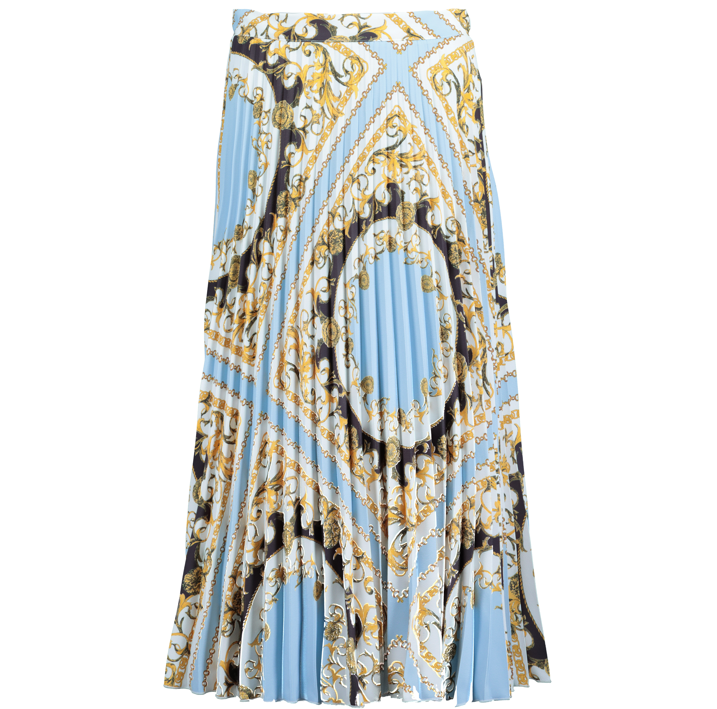 F&F at Tesco Chain Print Midi Skirt