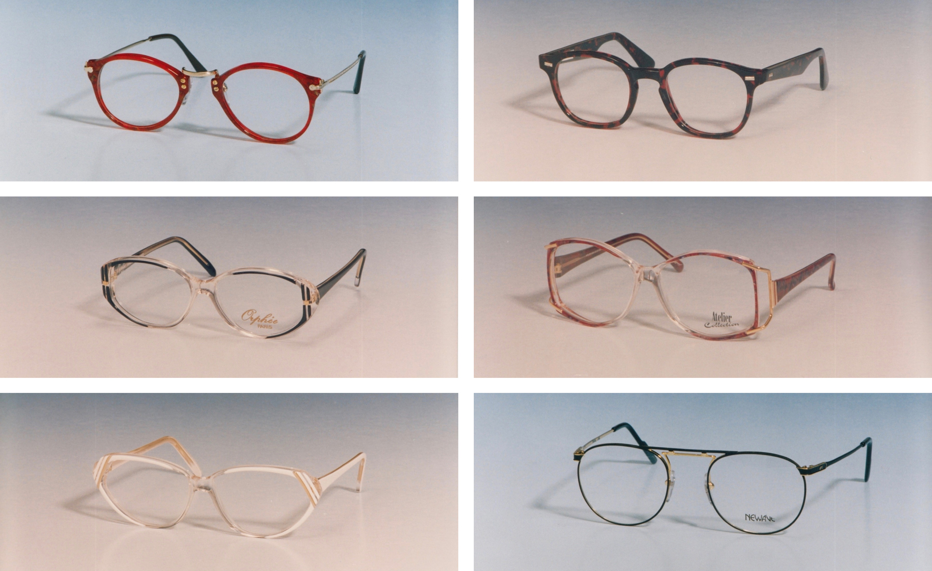 c1c89f4eb8b Many and varied models from Specsavers  Eighties collection (Specsavers PA)