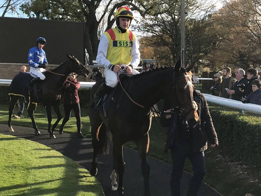 Brecon Hill could head to next month's Sky Bet Dovecote Novices' Hurdle (Graham Clark)