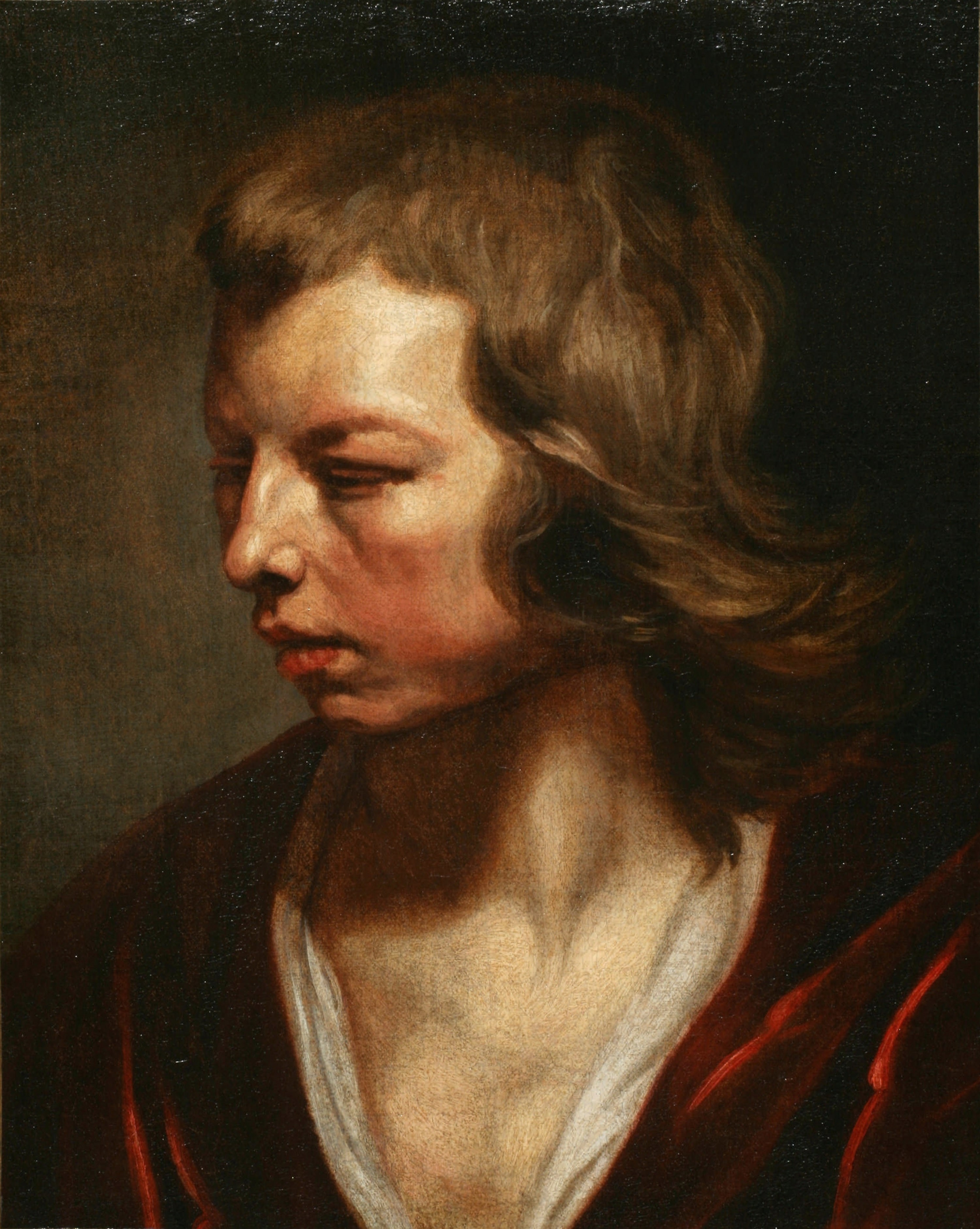 Michaelina Wautier's Study Of A Young Boy Turned Away, part of the Sotheby's sale The Female Triumphant