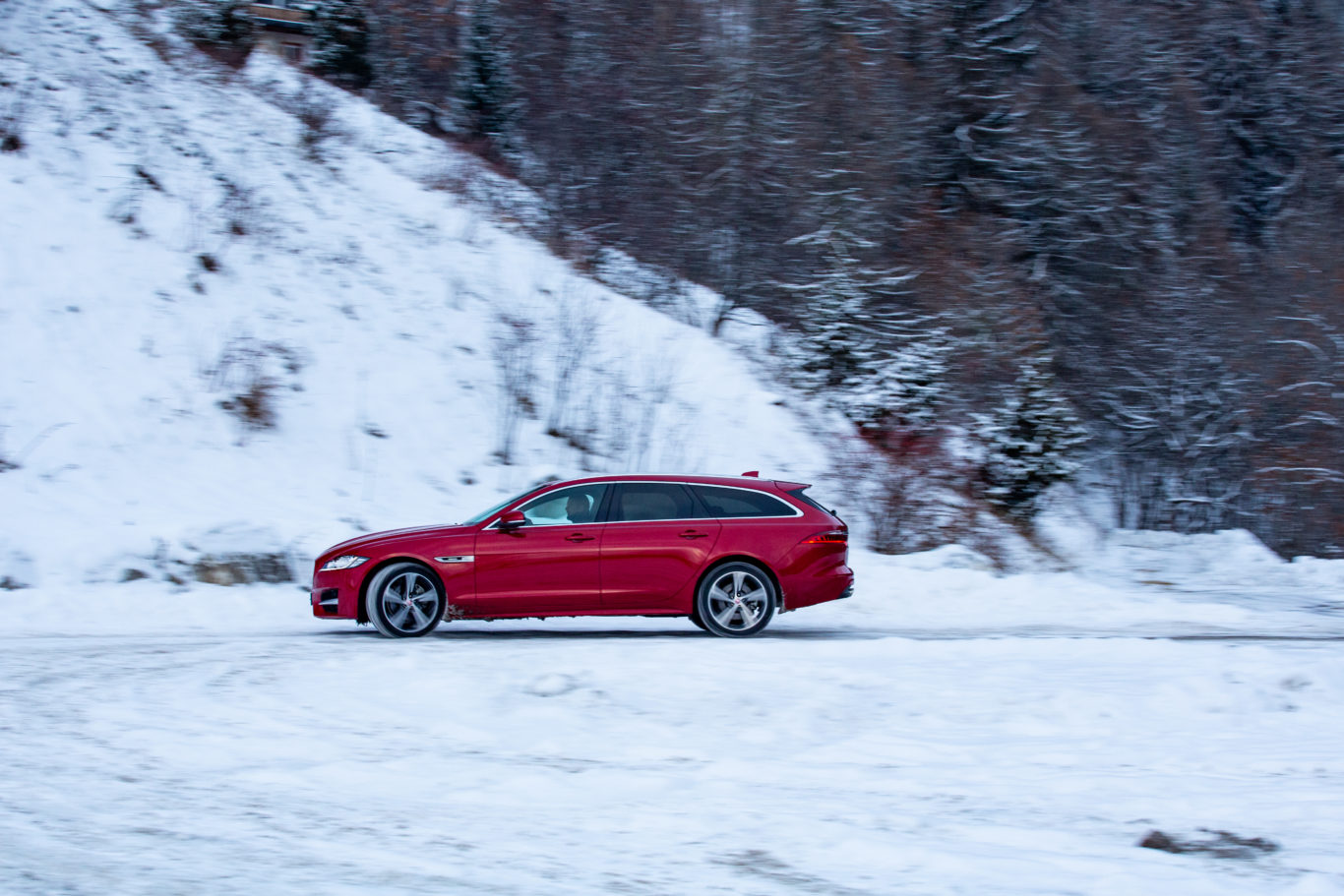 The Sportbrake offers more practicality than the regular XF
