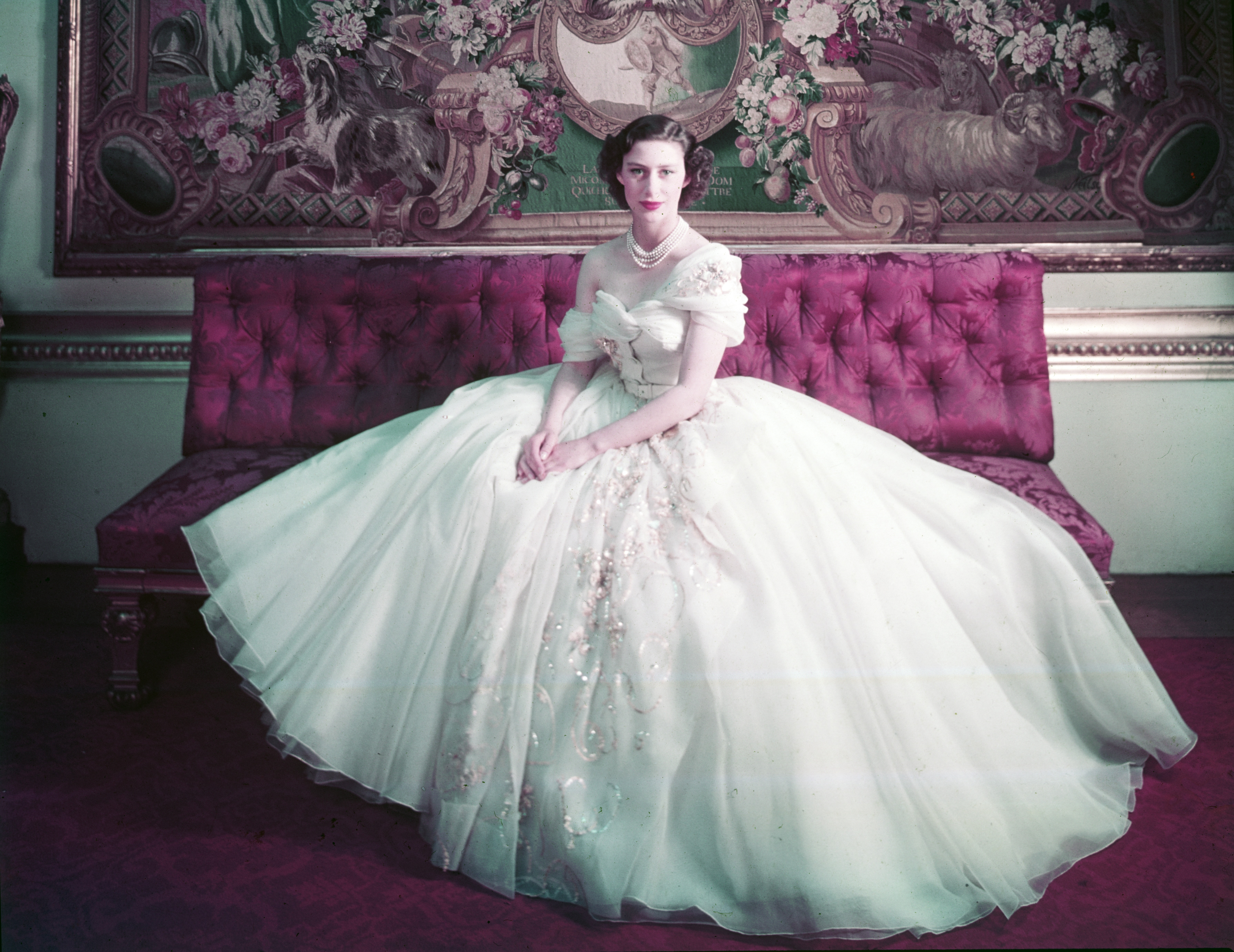 Princess Margaret photographed by Cecil Beaton