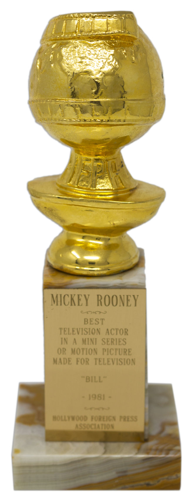 Mickey Rooney Golden Globe