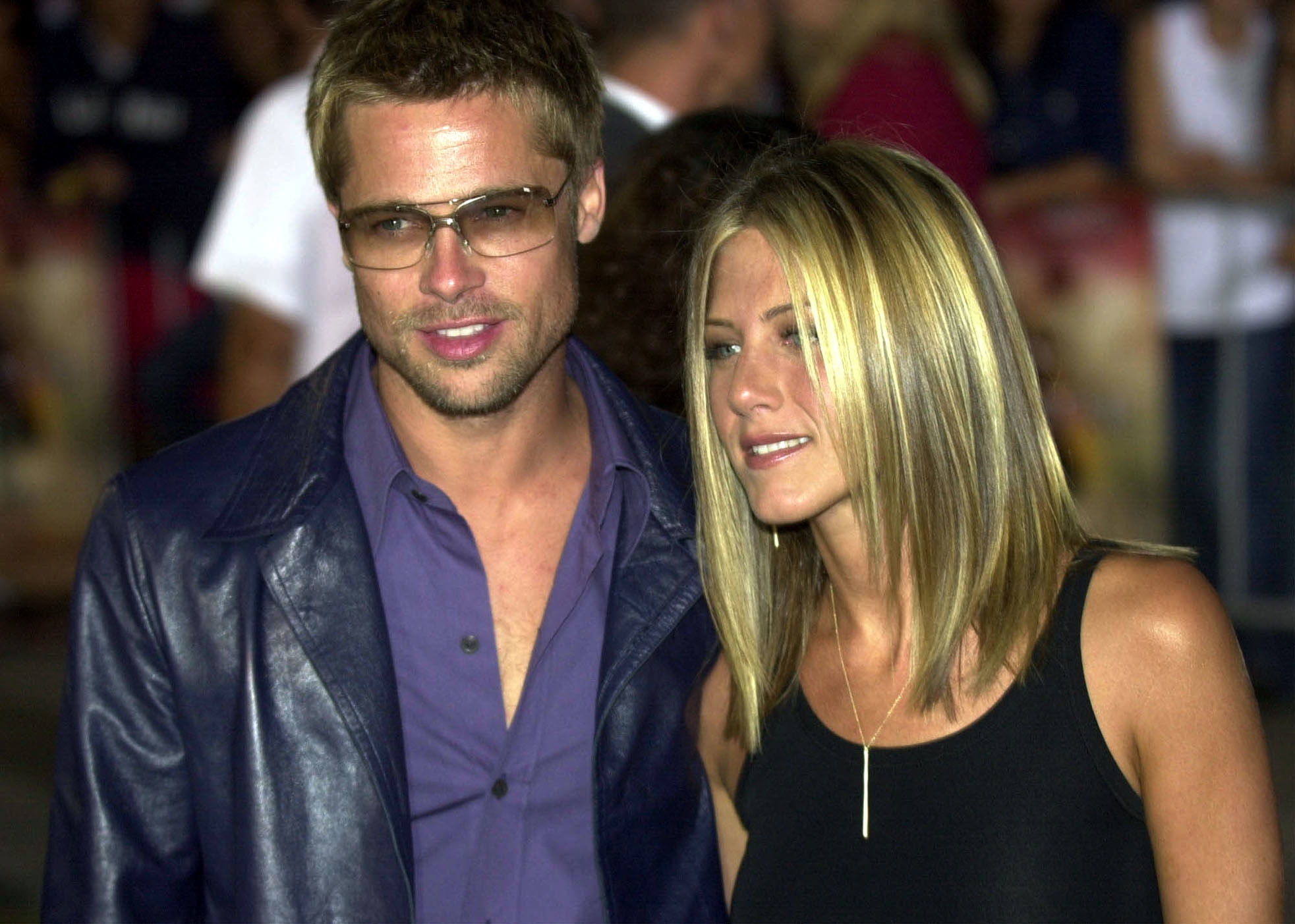 Brad Pitt and Jennifer Aniston 2001