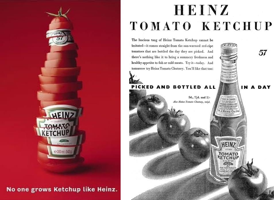 Two Heinz adverts