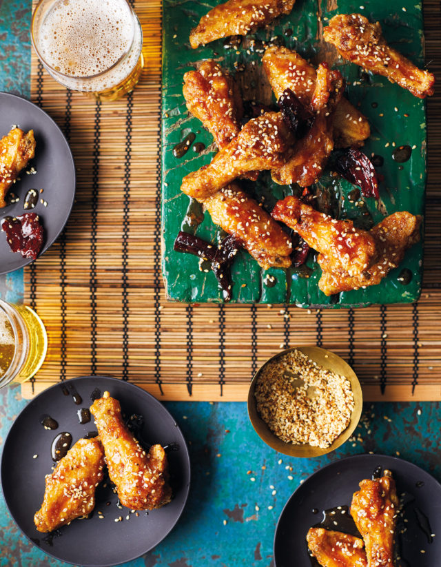 Sweet chilli crispy chicken wings from The Chinese Takeaway Cookbook by Kwoklyn Wan (Quadrille/Sam Folan/PA)