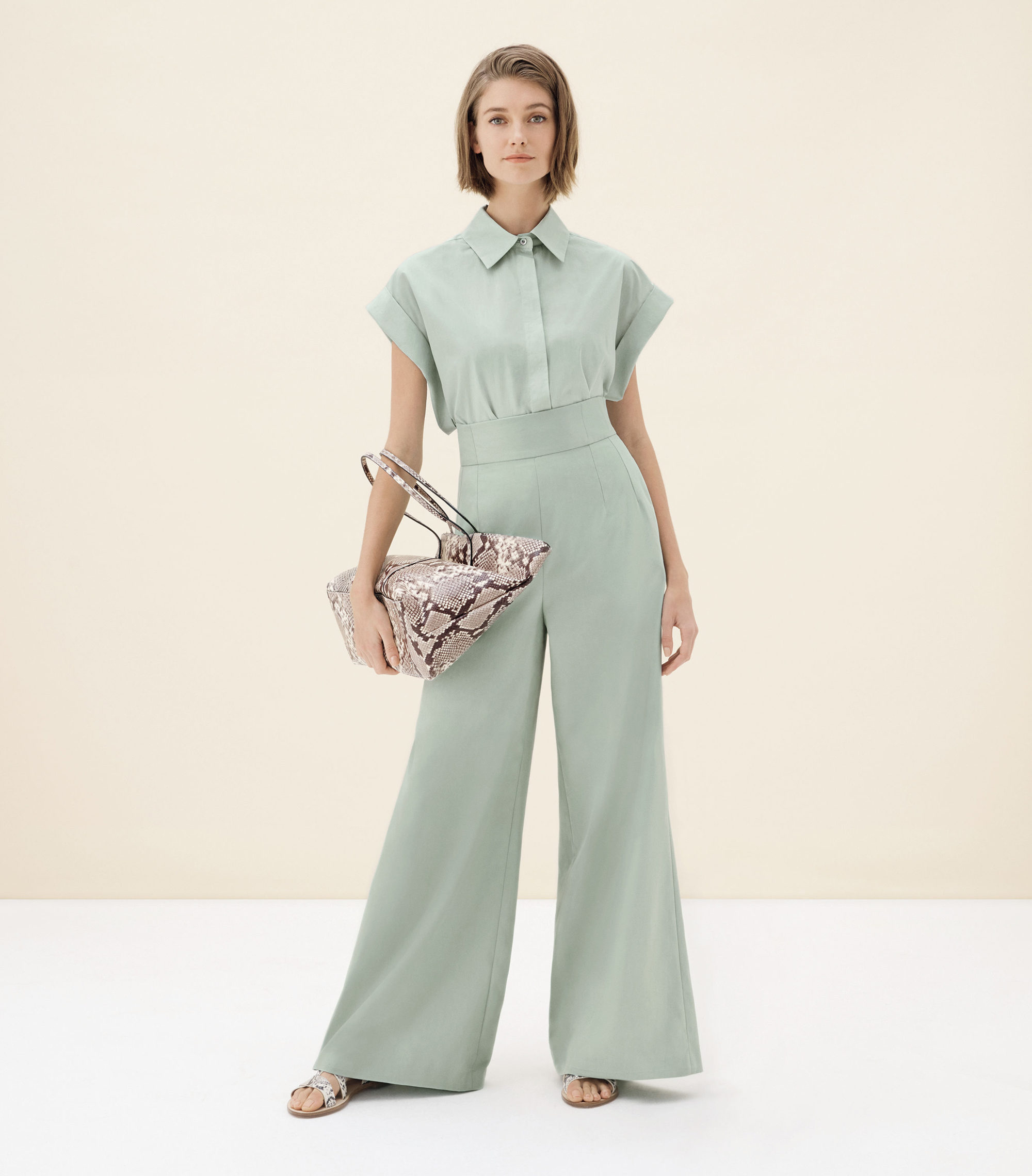 Hobbs Danby Tote; Susanna Shirt; Miley Trousers; Allie Sandals