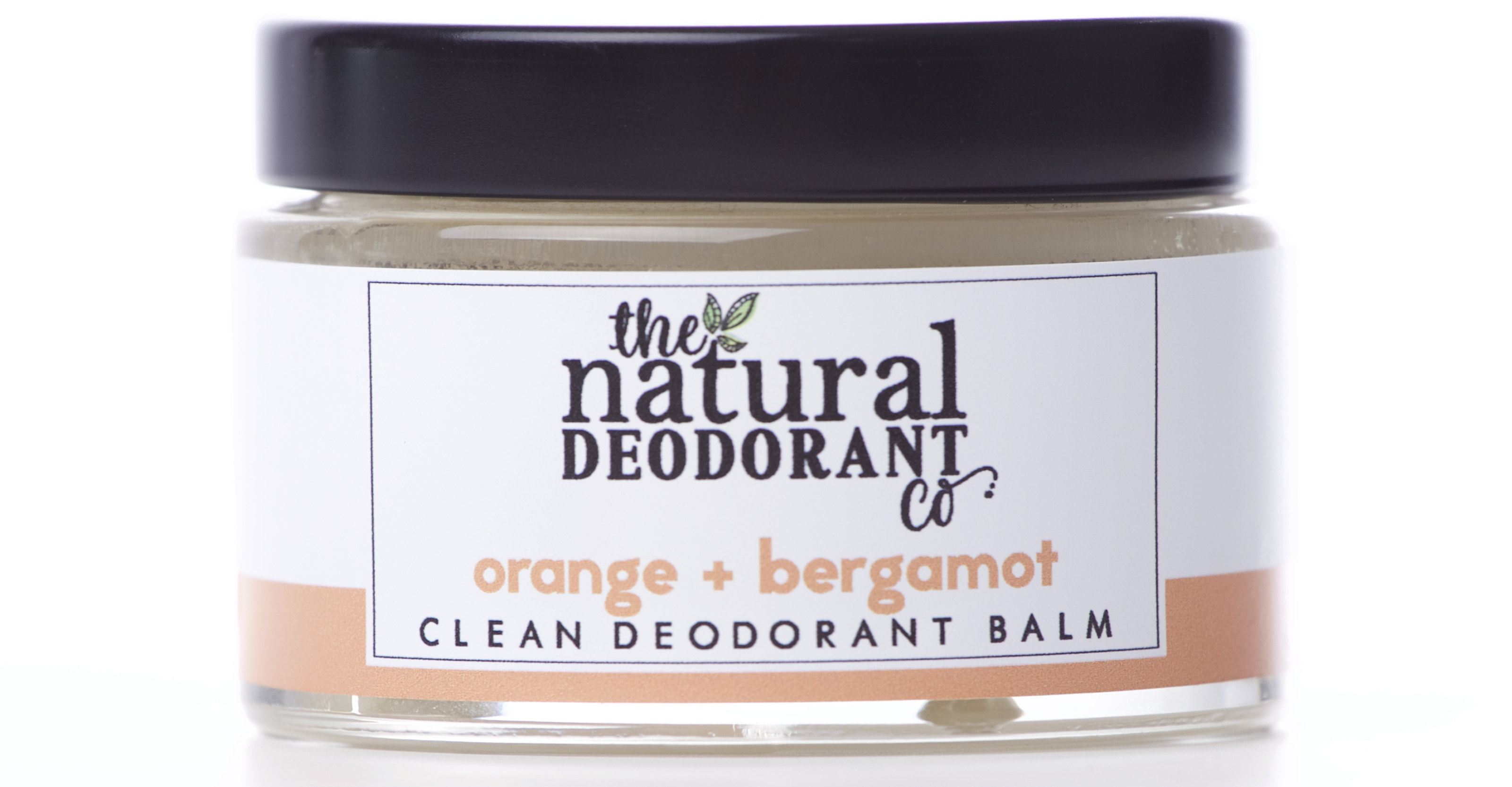 Natural Deo Co Clean Deodorant Balm Orange and Bergamot