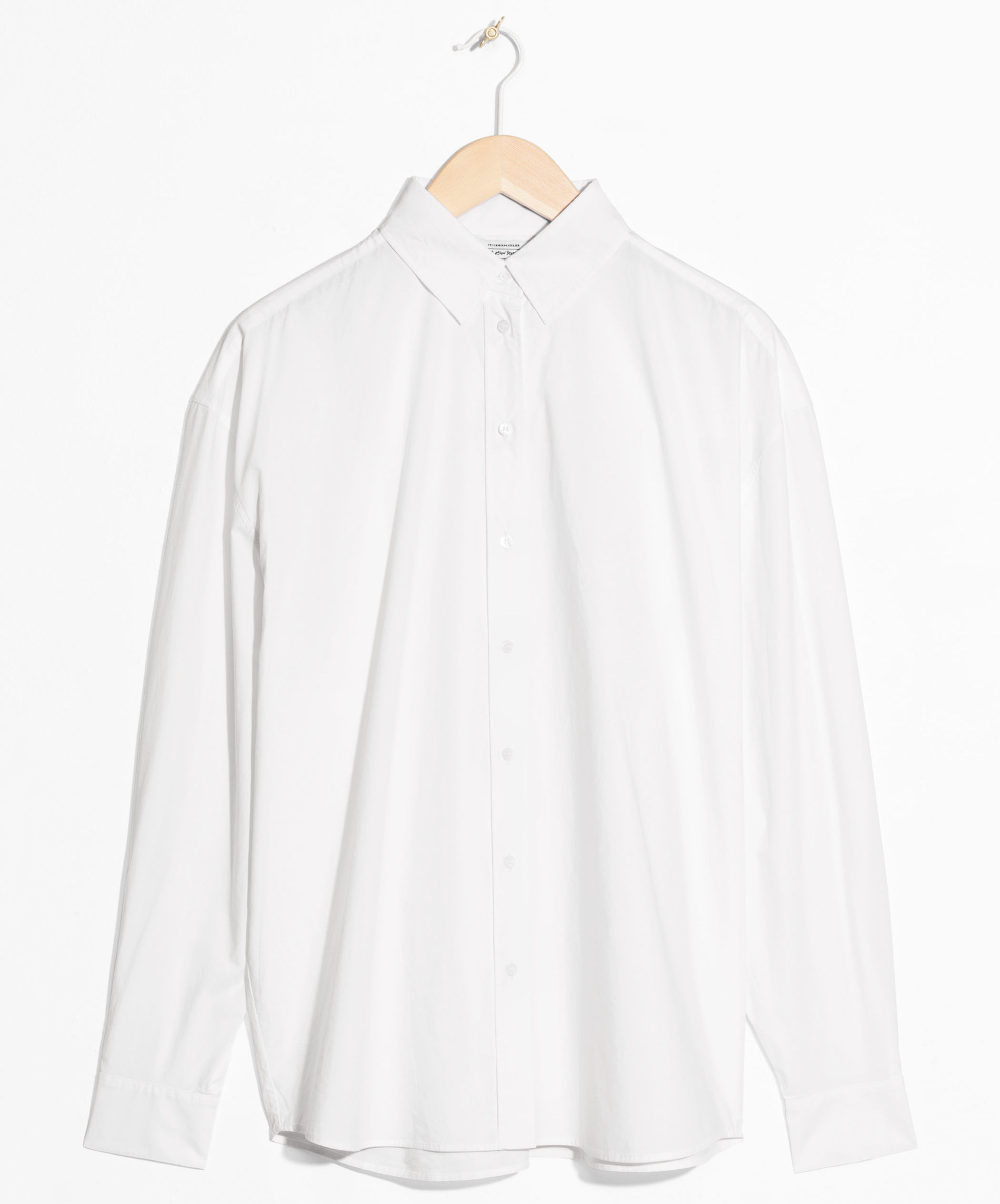 & Other Stories Oversized Crisp Button Up