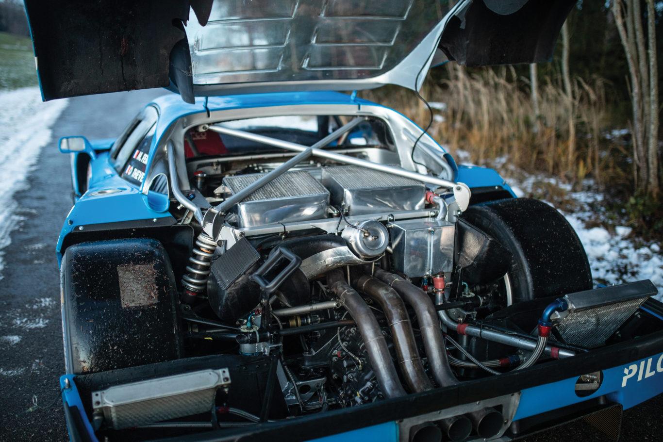 Ferrari F40 LM sells for £4.2 million