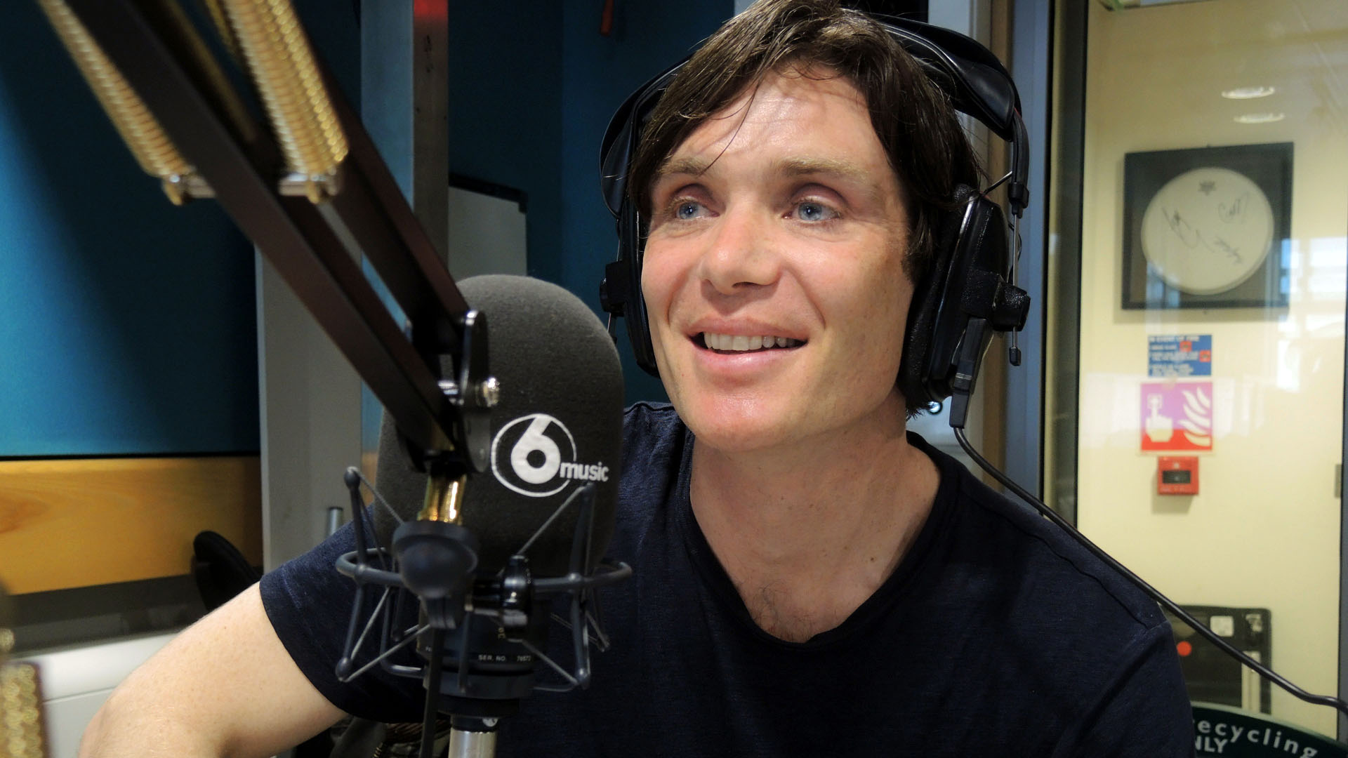 Cillian Murphy at 6 Music