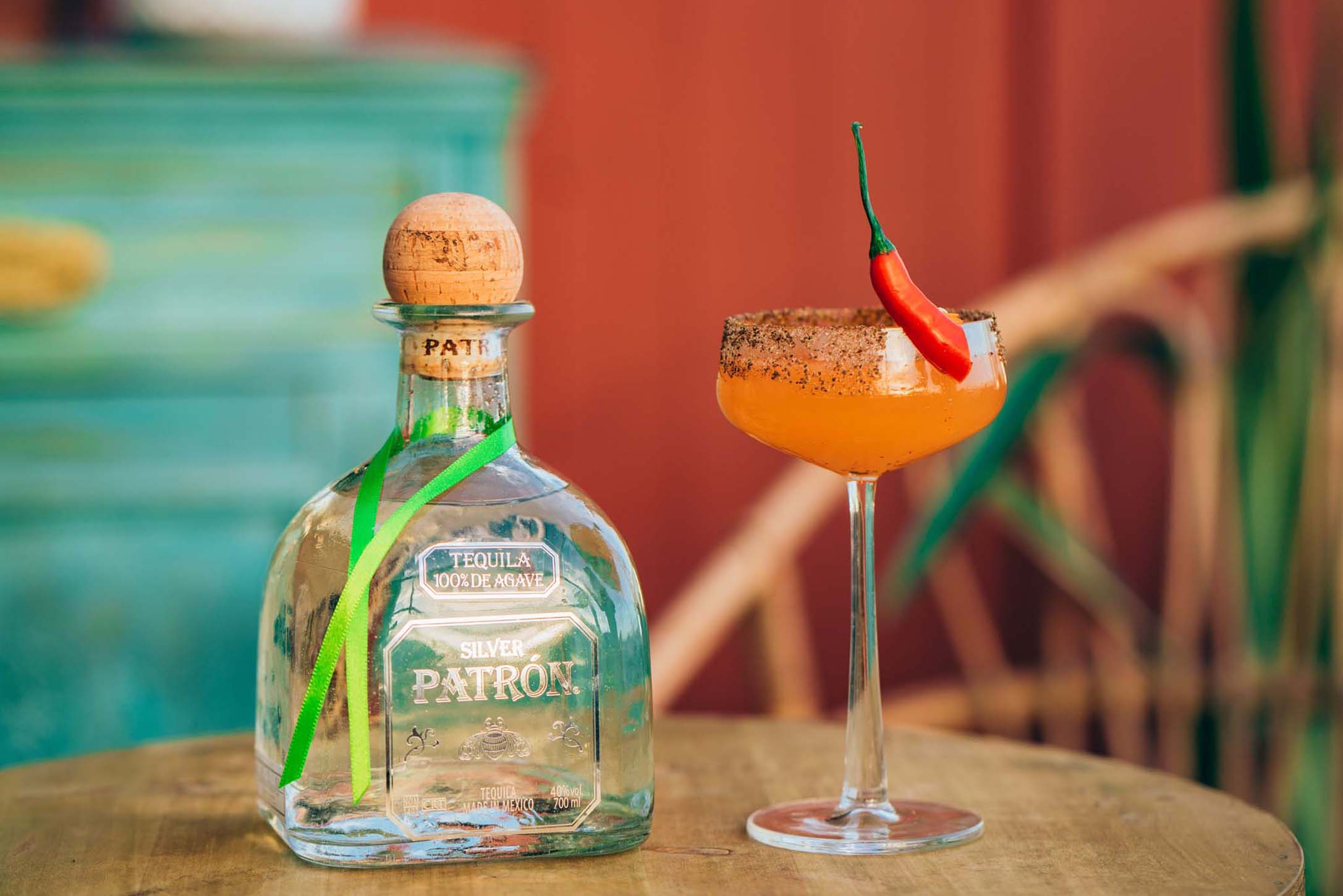 La Chispa del Patron cocktail