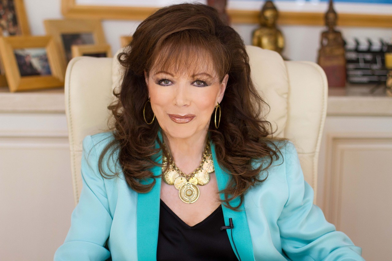 Jackie Collins, who died in 2015