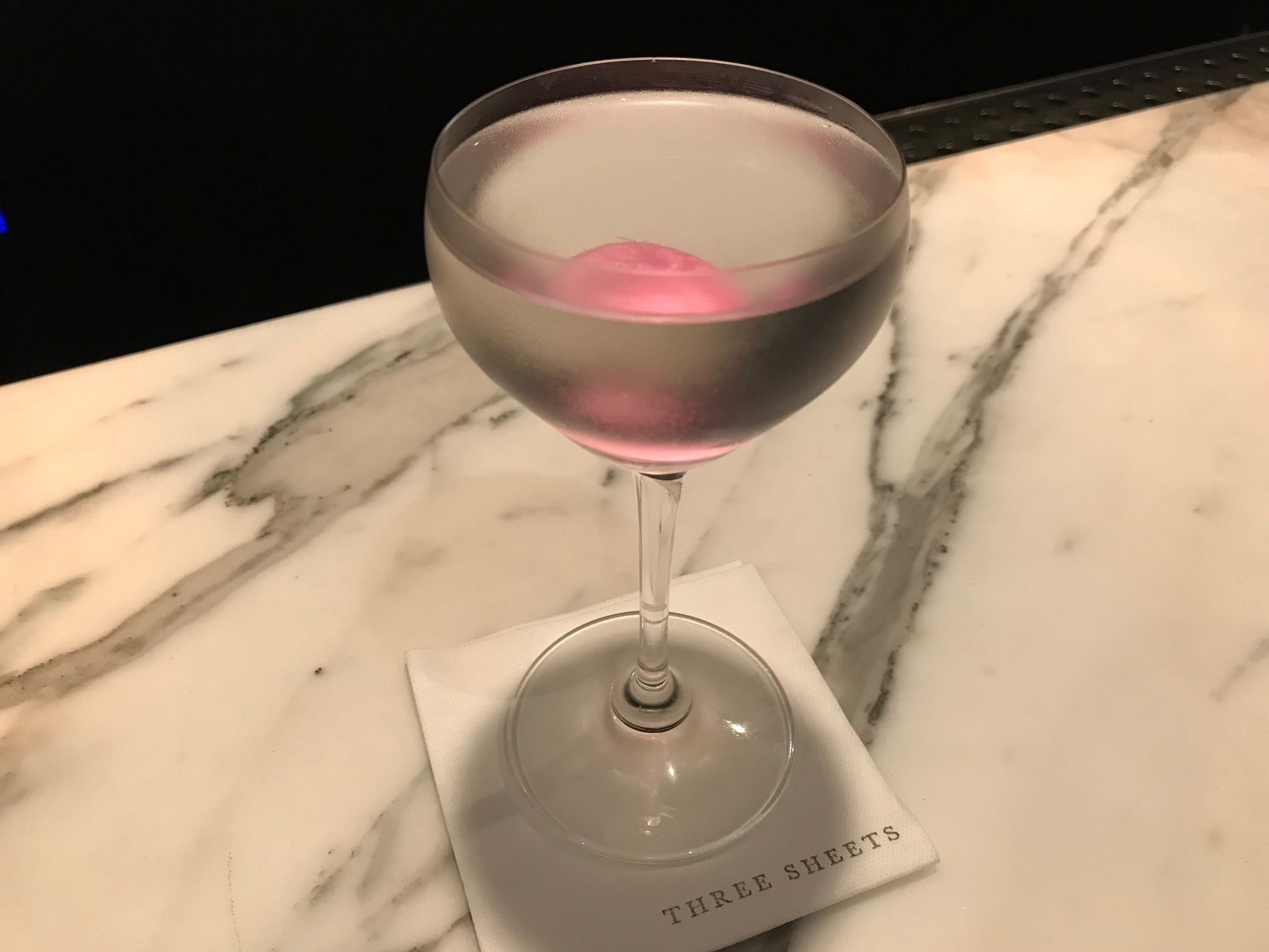 Earth Martini cocktail