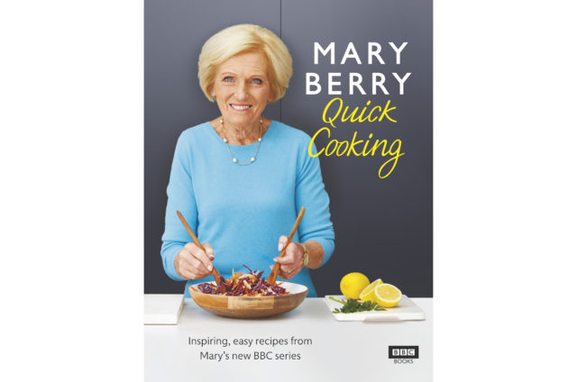 Mary Berry's Quick Cooking by Mary Berry (Georgia Glynn Smith/PA)