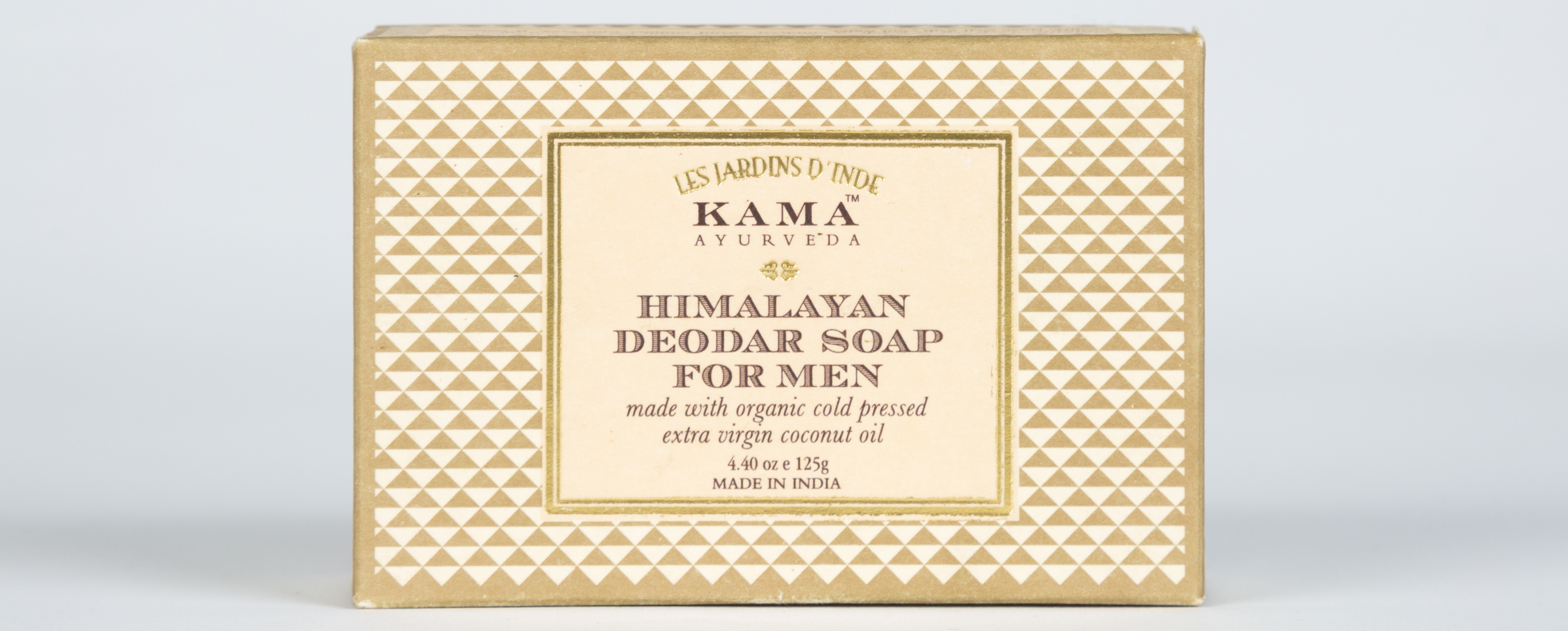 Kama Ayurveda Himalayan Deodar Soap for Men