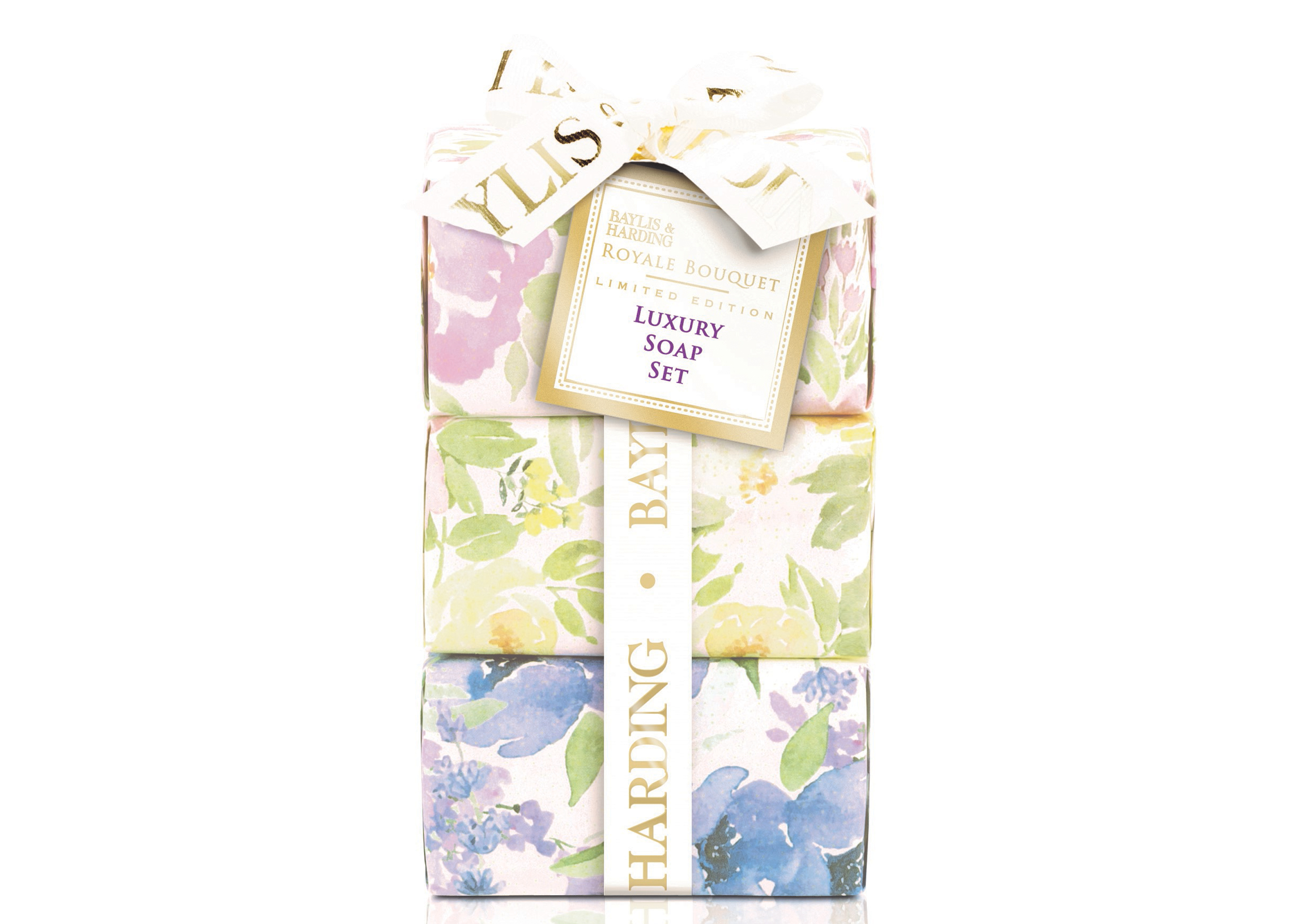 Baylis & Harding Royale Bouquet Limited Edition Luxury Soap Set