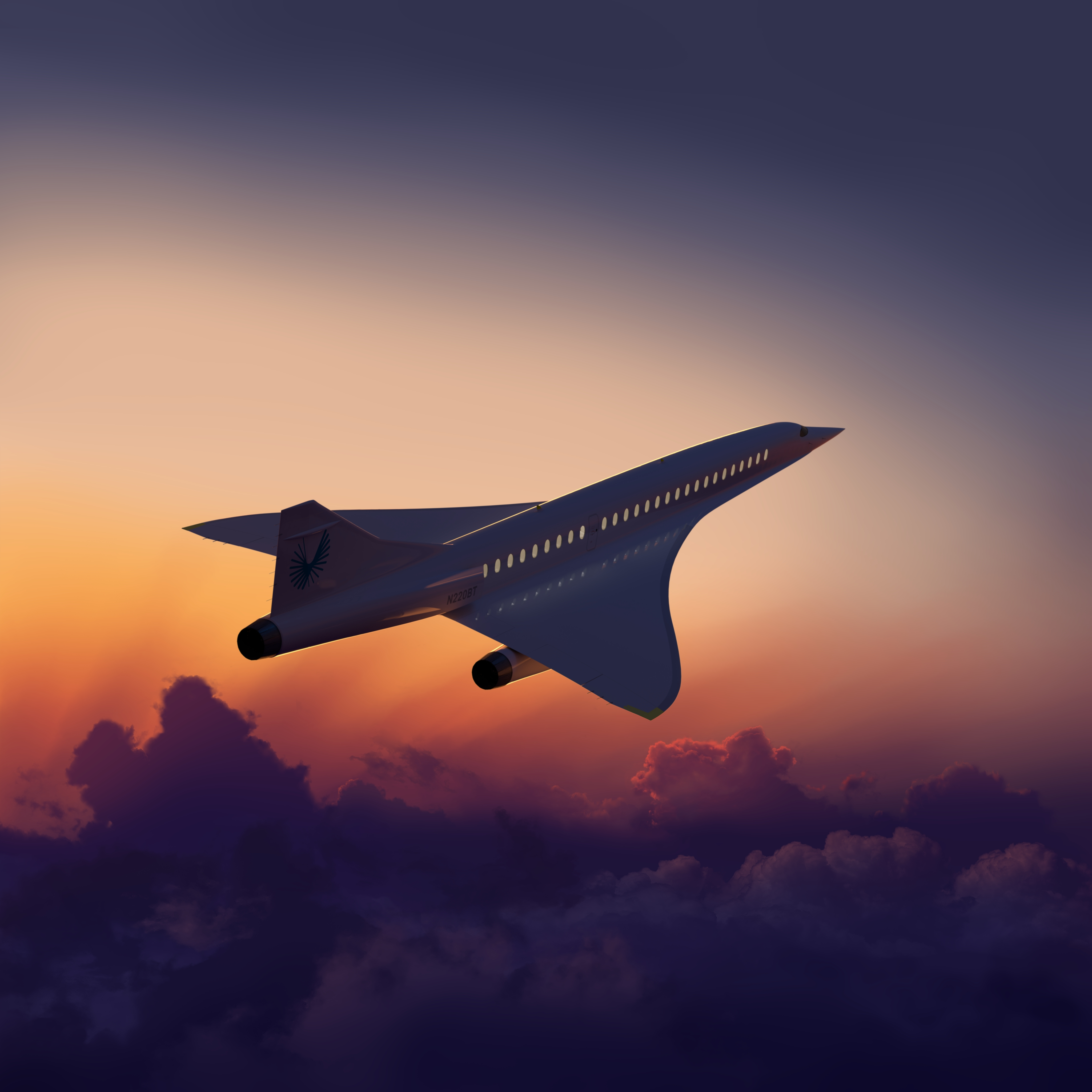 "Boom Supersonic says its Overture plane will be ""the new norm for anyone who flies business class"" (Boom Supersonic/PA)"