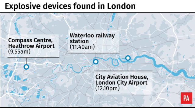 Where the devices were found