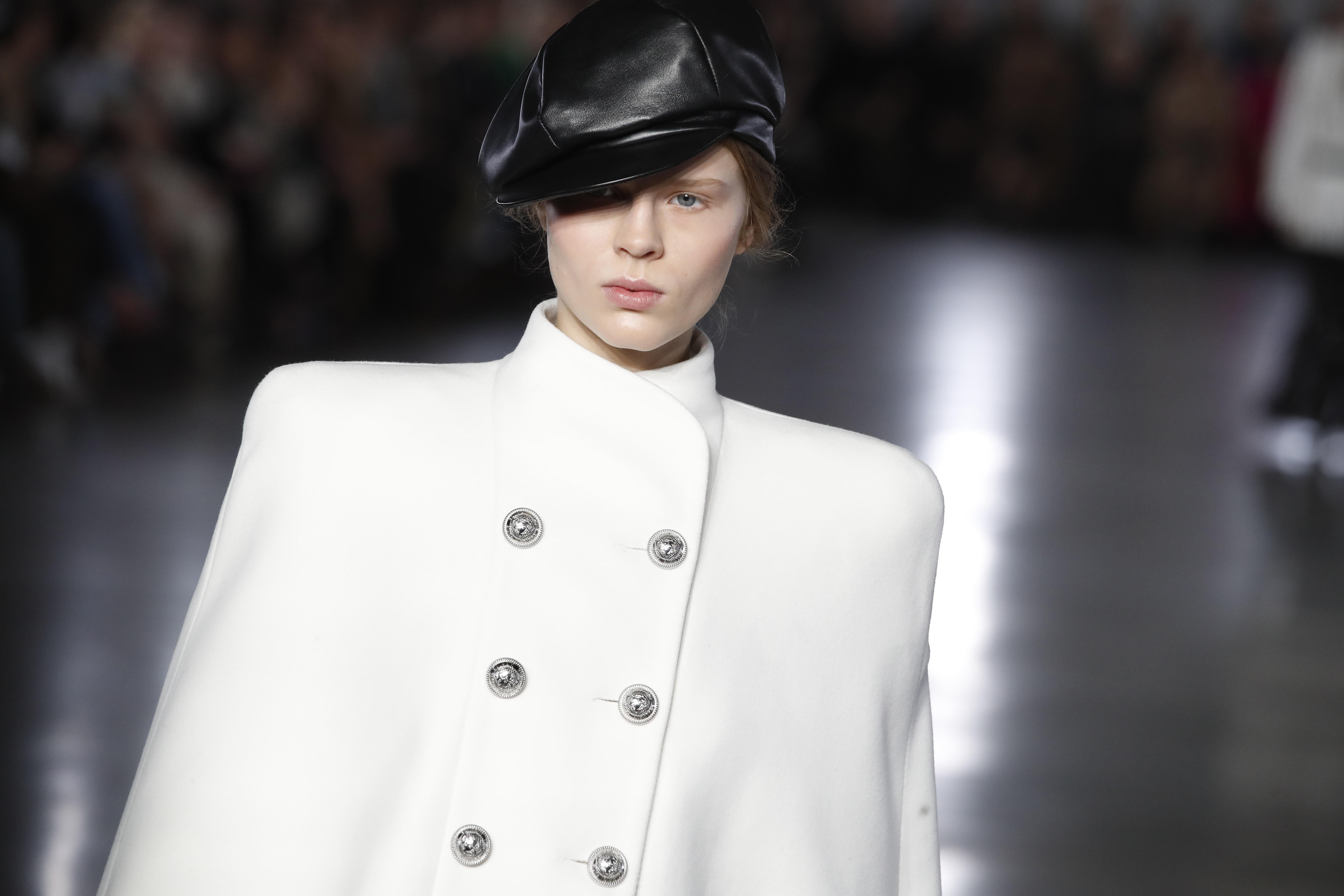 b85472bde8012 Paris Fashion Week designers really want you to update your hat ...