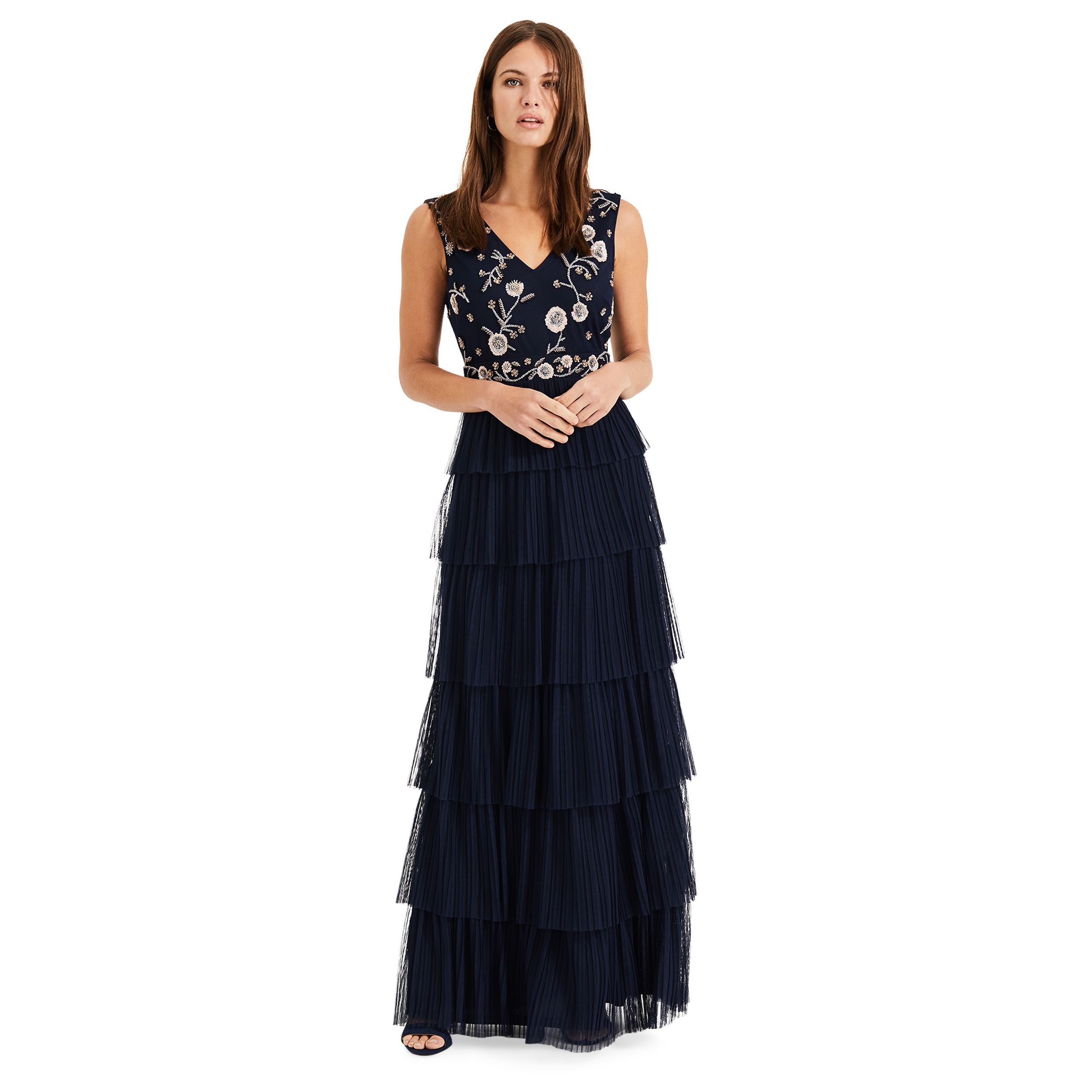 Phase Eight Cordelia Tiered Maxi Dress