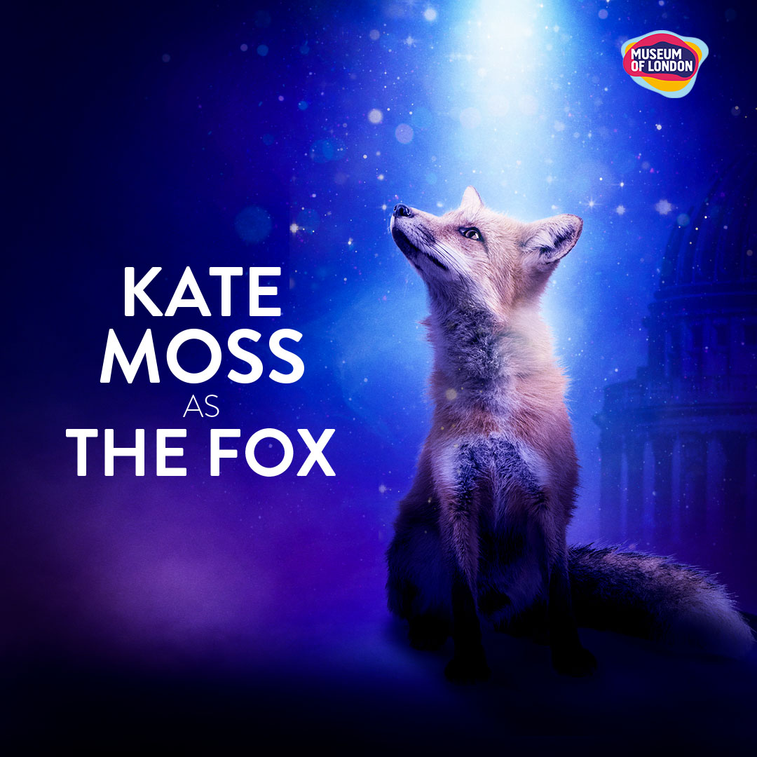 Kate Moss will voice the fox