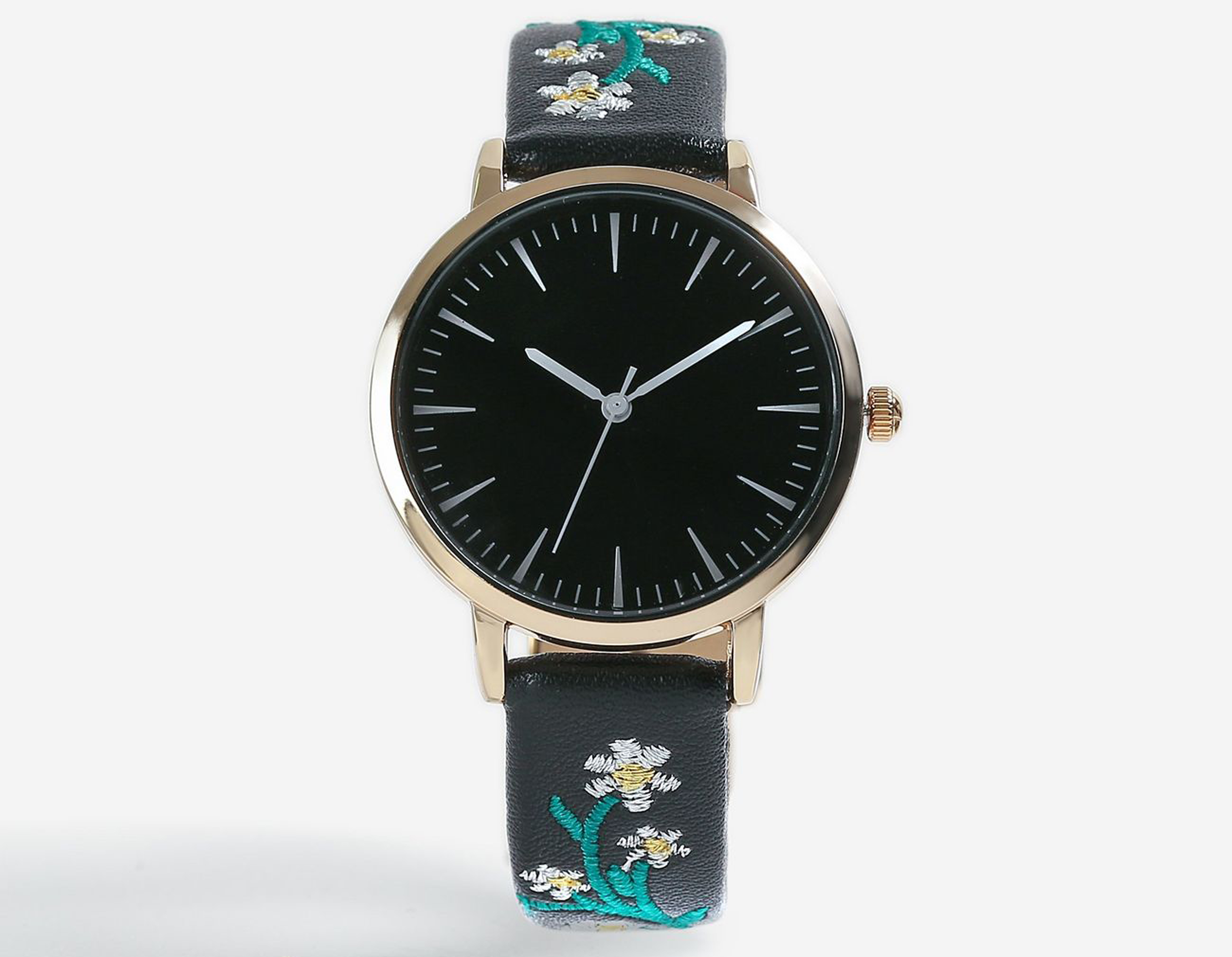 Topshop Embroidered Watch