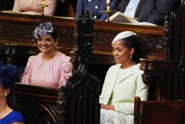 Benita Litt and Meghan's mother Doria Ragland