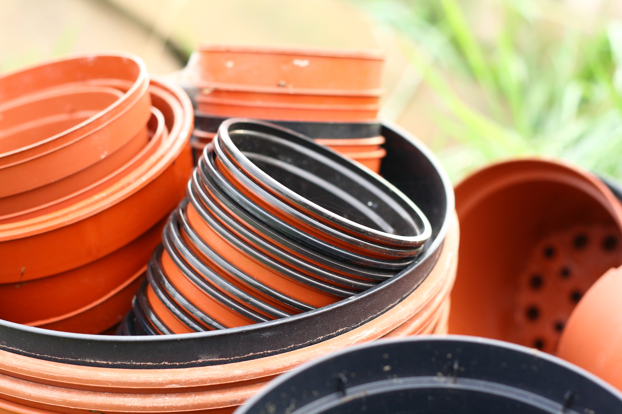Try to stop using plastic pots (iStock/PA)