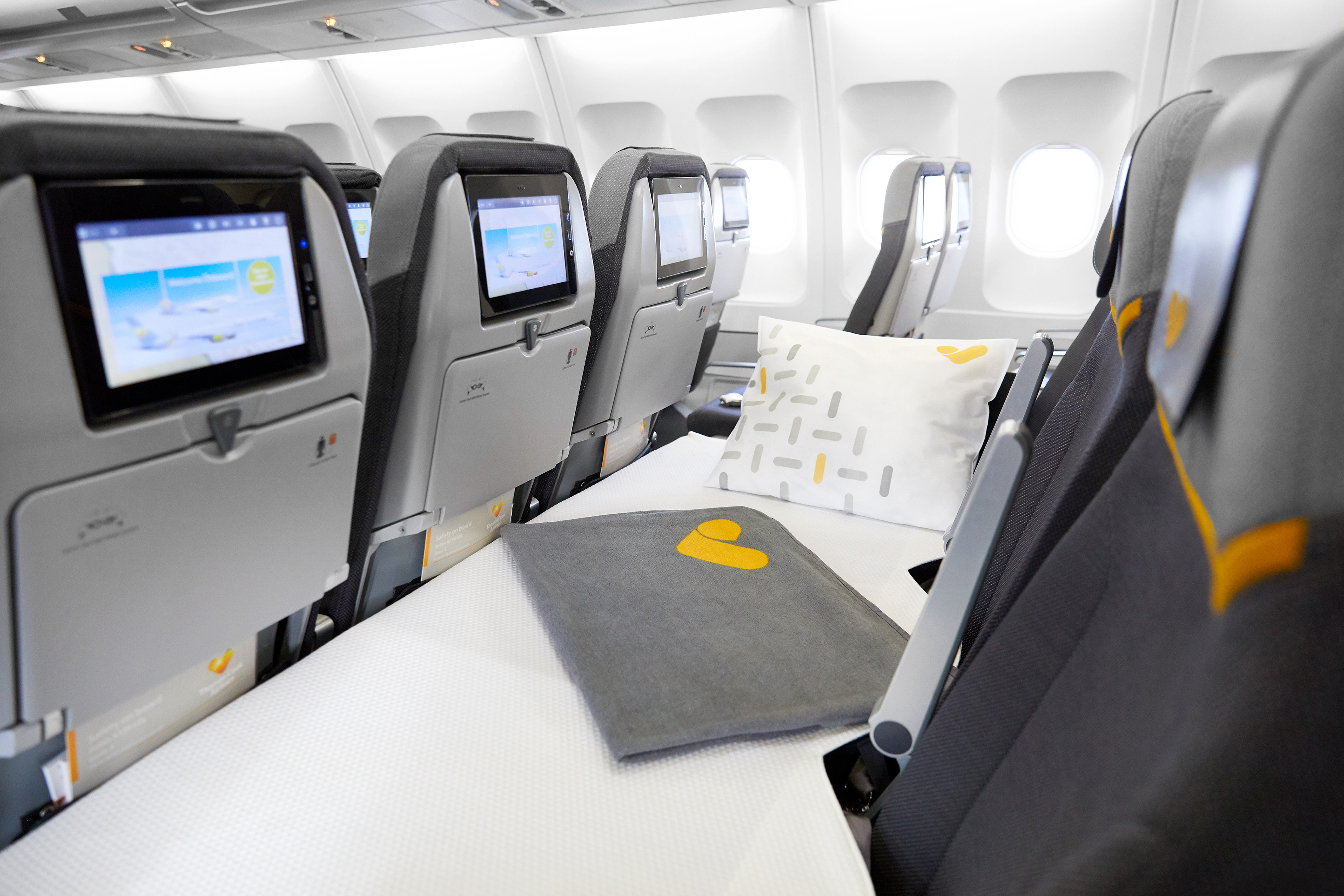 Thomas Cook Sleeper seats