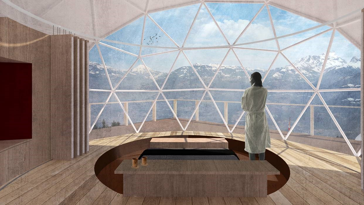 Switzerland eco pod
